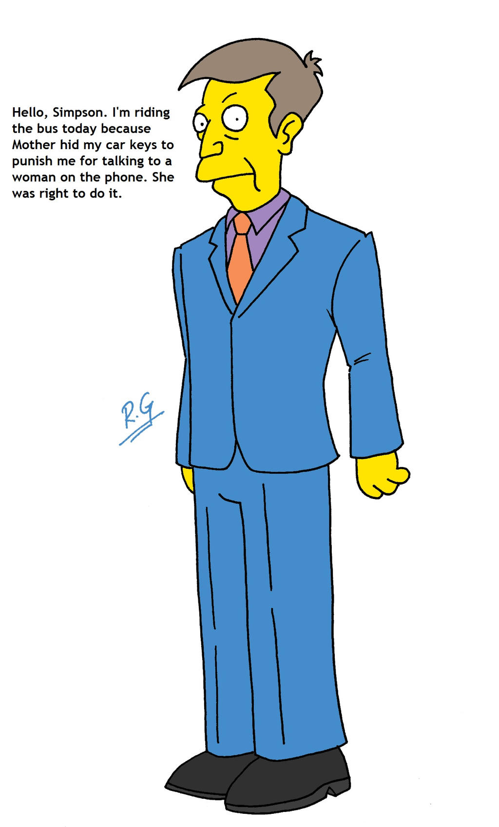 The Simpsons loses Ned Flanders, Mr. Burns, and Principal ...