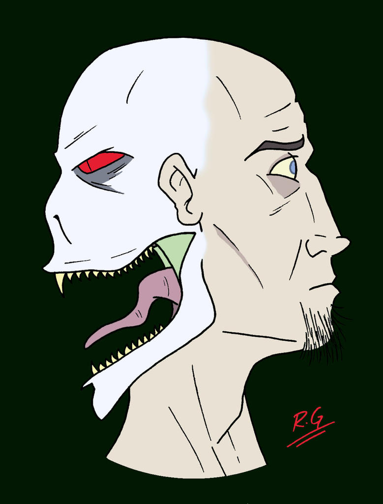 The Man With Two Faces by DANGERcomics