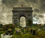 Matte painting - Paris