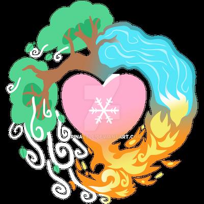 Elemental Cutie Mark by Brinazzle