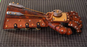 Steampunk Bracer Mark III
