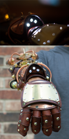 Steampunk Explorer's Gauntlet