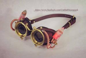 Crystal Powered Ocular Enhancers by CraftedSteampunk