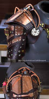 Steampunk, Powered Pauldron by CraftedSteampunk