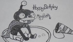 Happy Birthday MegBeth