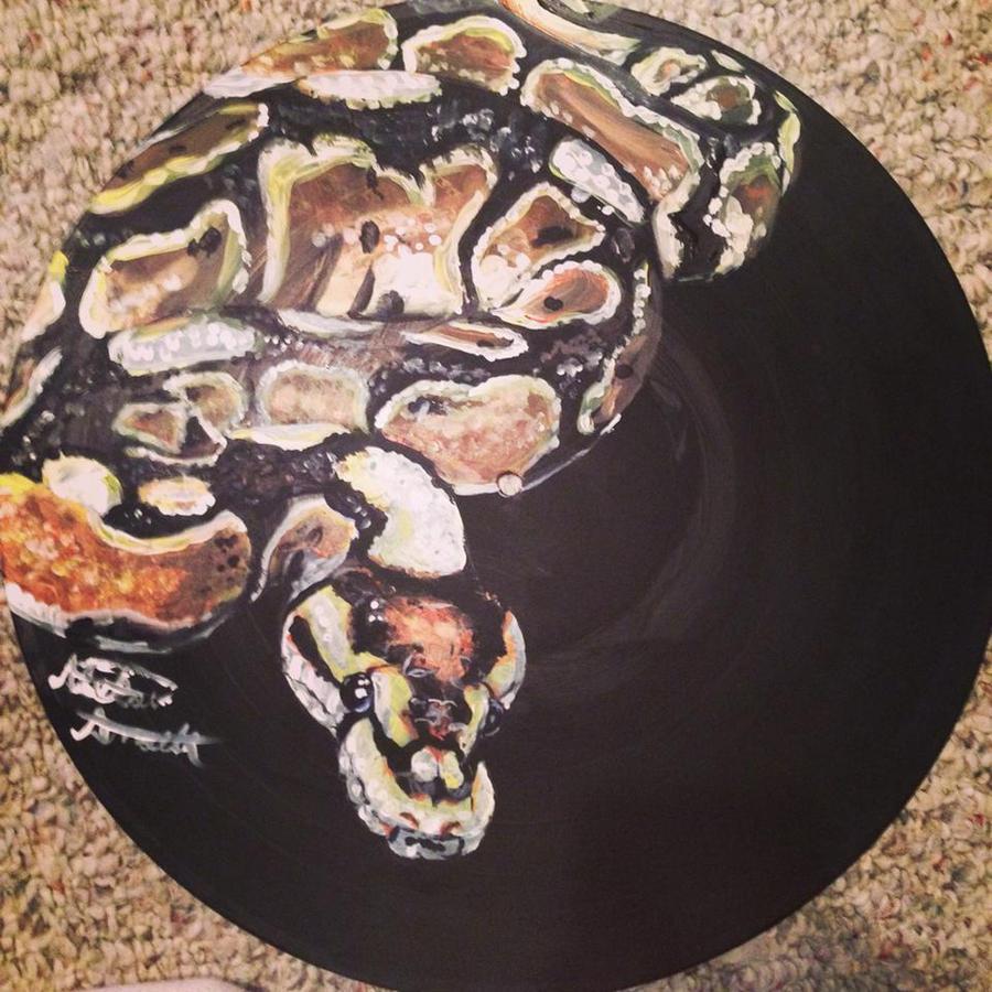 Vinyl Art Ball Python By Binkaminka On Deviantart