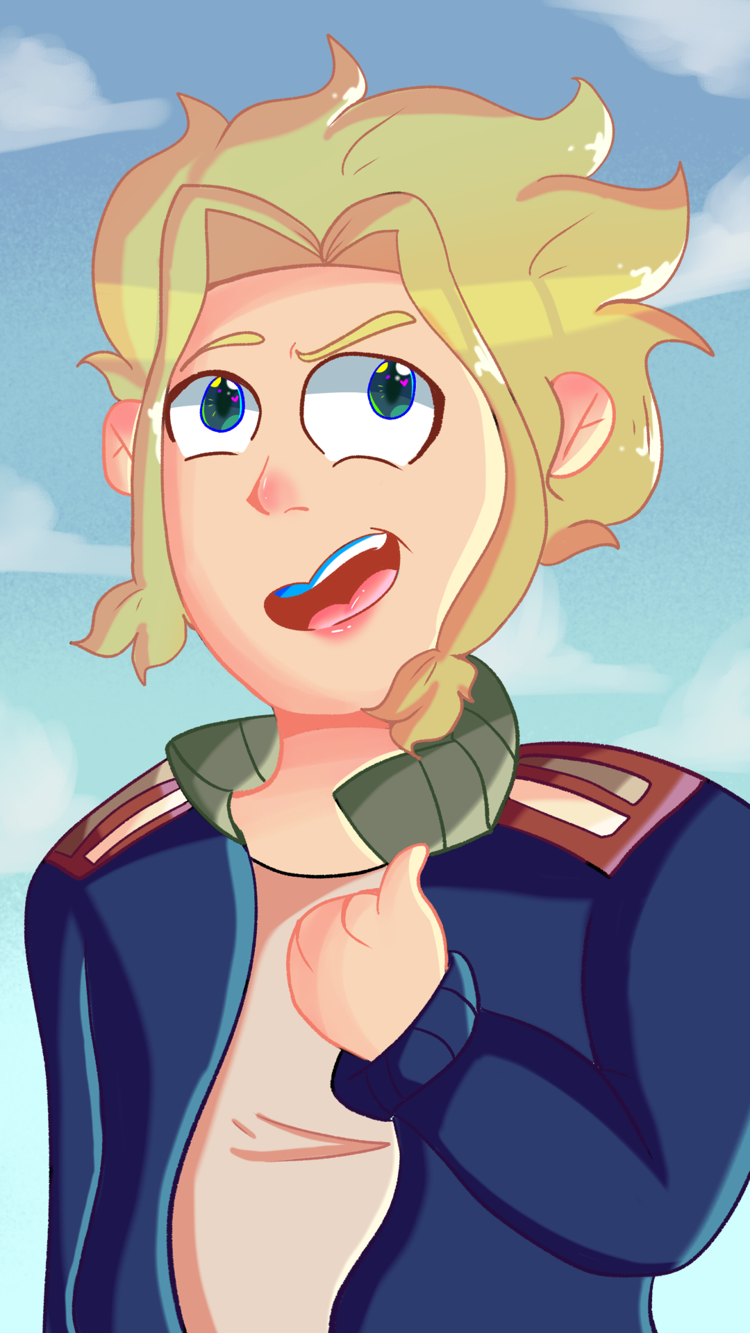 Young all might!