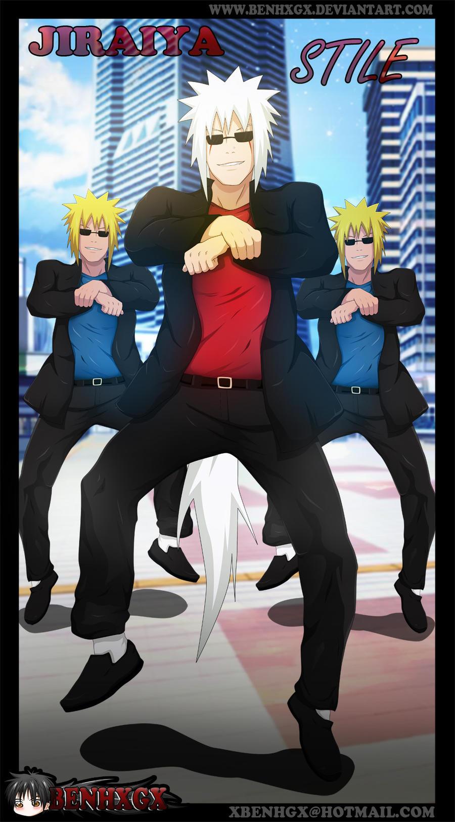 Jiraiya GanGnam Style by BENHXGX