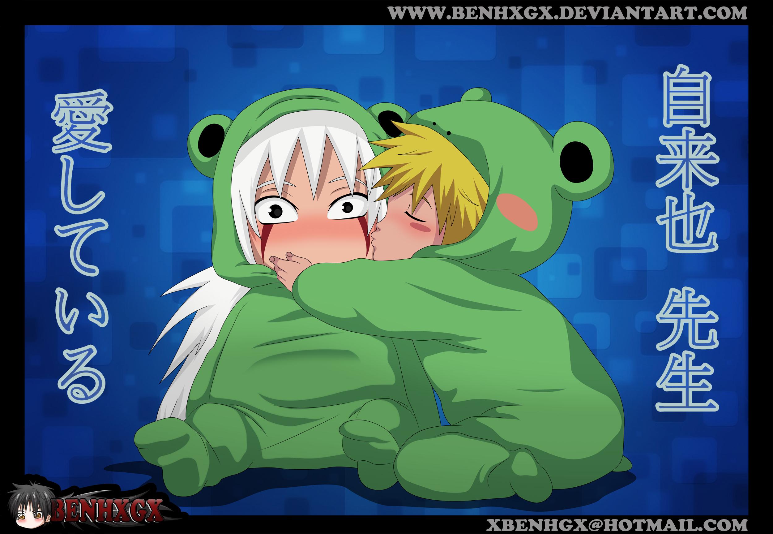 Cute Chibi  Jiraiya and Minato by BENHXGX