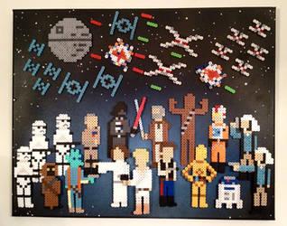 Star Wars: A New Hope by PixelArtShop