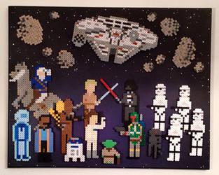 Star Wars: The Empire Strikes Back by PixelArtShop