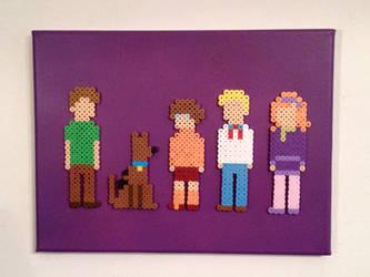 Scooby-Doo Gang by PixelArtShop