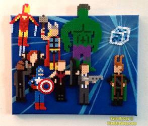 Avengers Assembled! by PixelArtShop