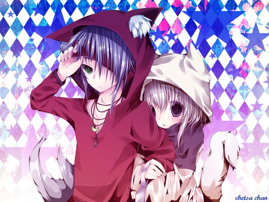 anime neko boy wallpaper images