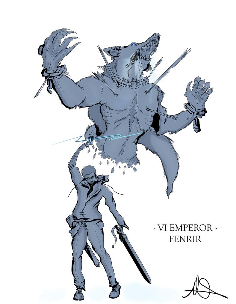 I'll - Fenrir (Old) by Unlock3d