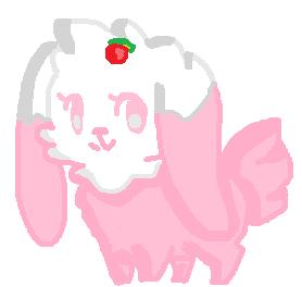 [ OPEN CHEAP ] Strawberry Cake Bunny! by FatenPurple