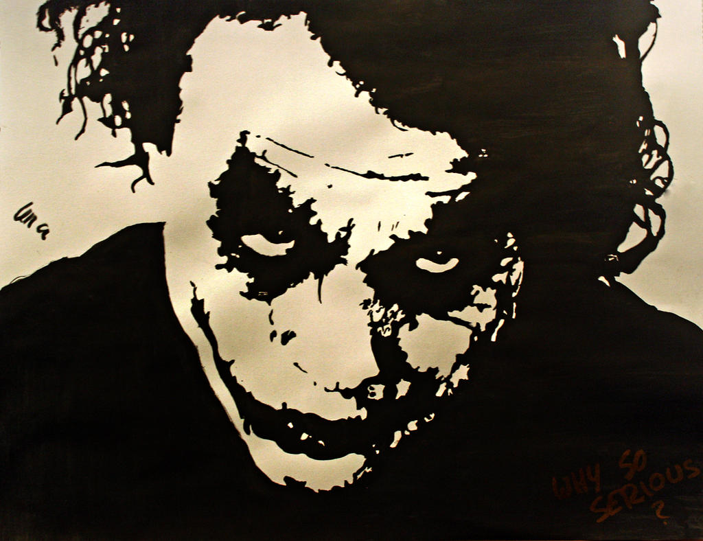 Why So Serious? by LenaLawliet on DeviantArt