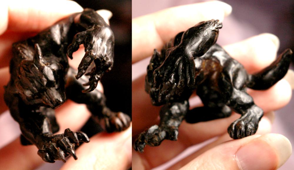 Feral Werewolf WIP by Vertaki