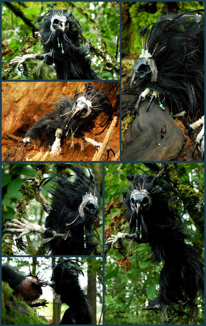 Vain the Undead Raven by Vertaki