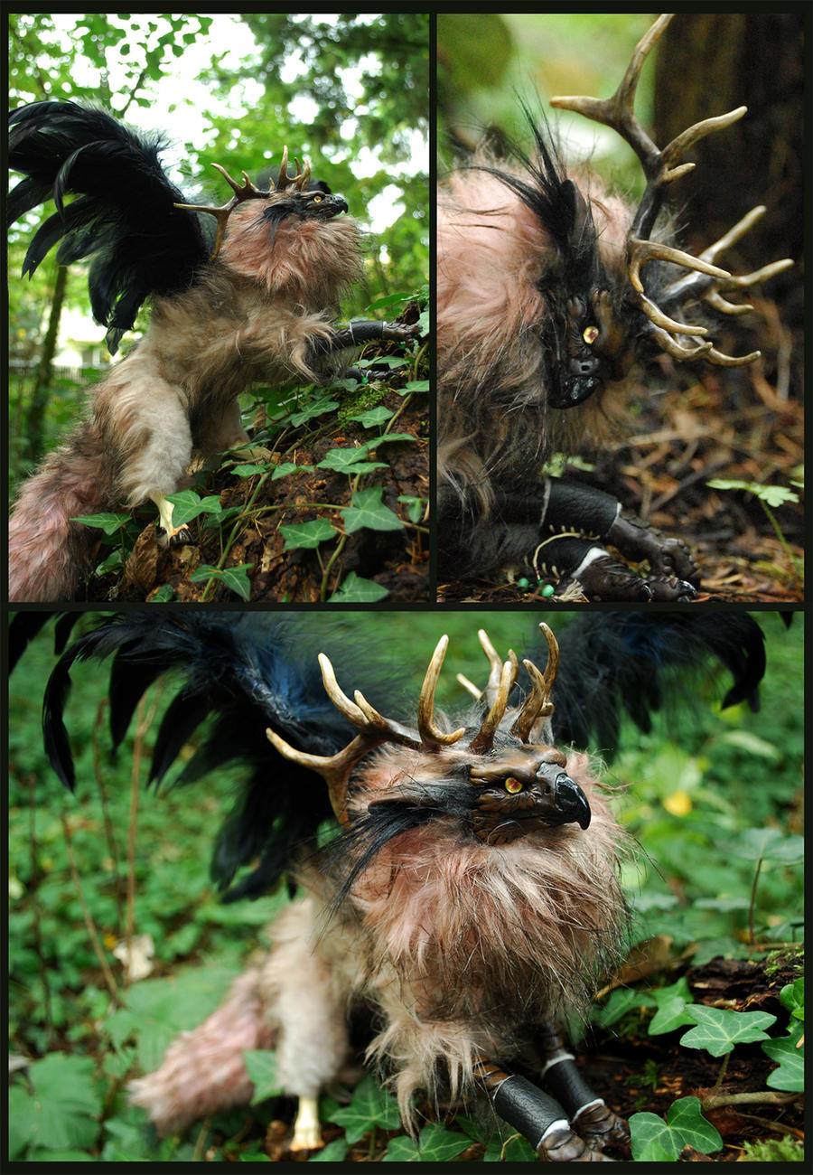 The Winged Stag- eBay by Vertaki