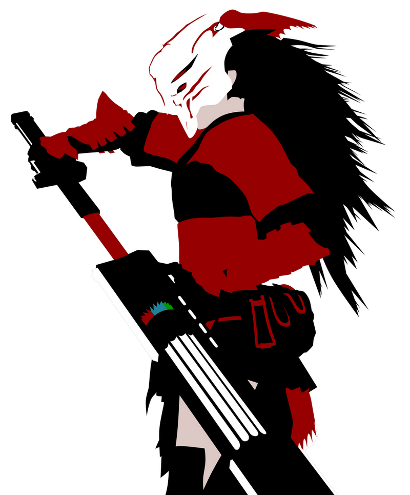RWBY - Mysterious Samurai by SKy-2008