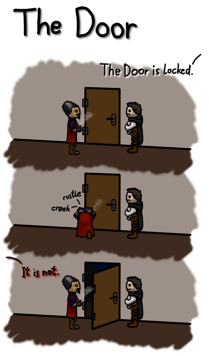 DSA shorts: The Door by SKy-2008