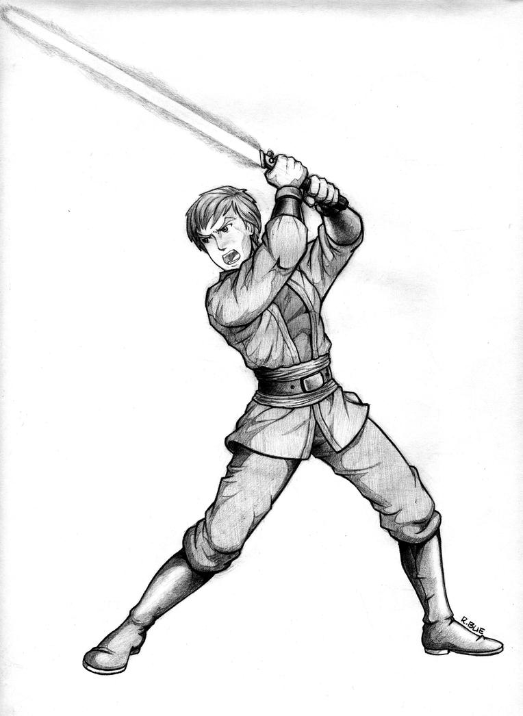 Star wars luke skywalker by richardbue on deviantart for Luke skywalker coloring page