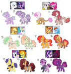 [Adopt] Collab 4 - MLP Crackships (OPEN) by KittyGames0w0