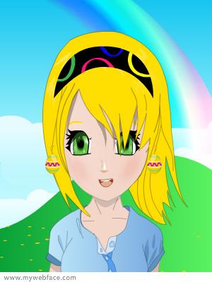 Me as an anime by IceDragon24