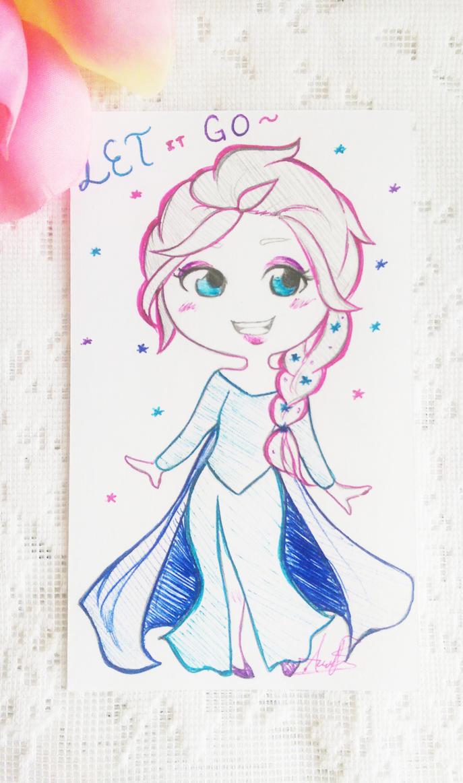 Elsa by Fifi-kat