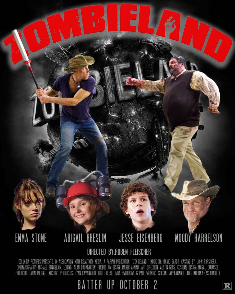Zombieland Movie Poster By Bradleydurham On Deviantart