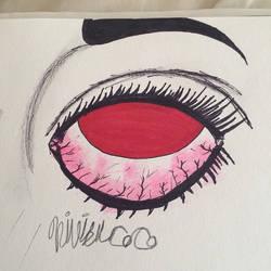 red eye -me by thegreatbobinsky