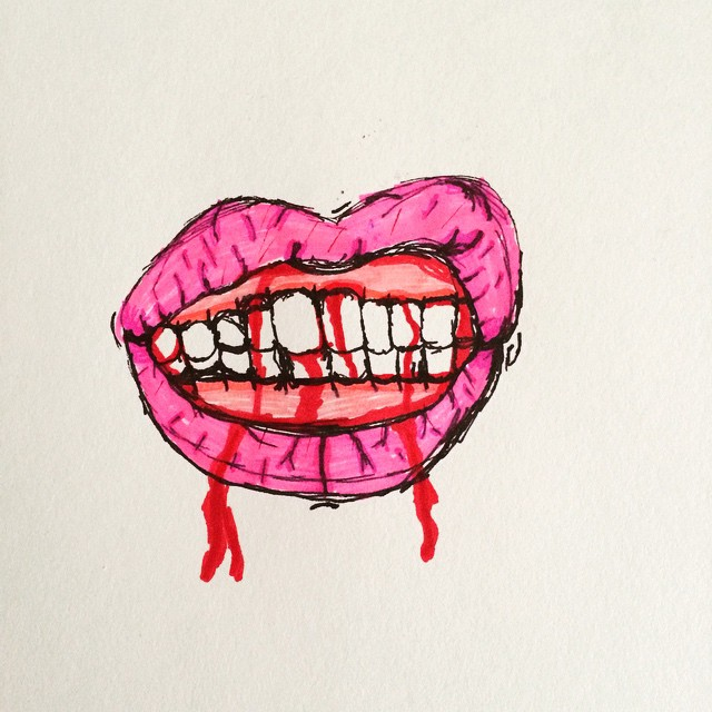 inspired by 'lipsex' by Colin Christian by thegreatbobinsky