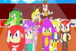 Chaotix at the Olympics Summer games