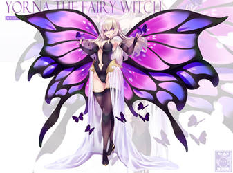 Yorna The Fairy Witch by gainoob