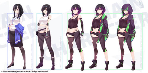 [Ouroboros Project] Main character design