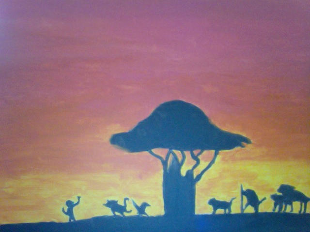 The Lion King Silhouette By Hoppuscommamark On Deviantart