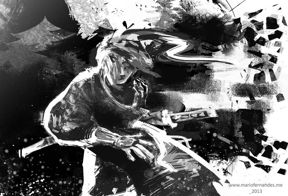 Samurai Ronin -755-mariofernandes by mariofernandes