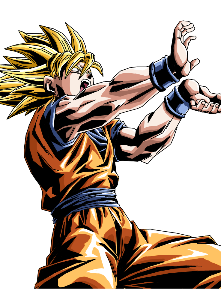 Son Goku KameHameHa No. 2 by H1d4n
