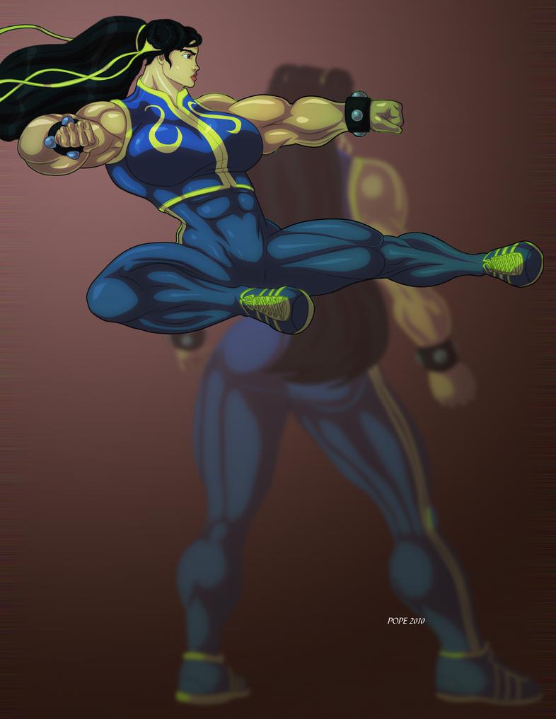 Chun Li Lin by Gary by vince3