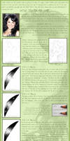 Tutorial: how to draw hair?