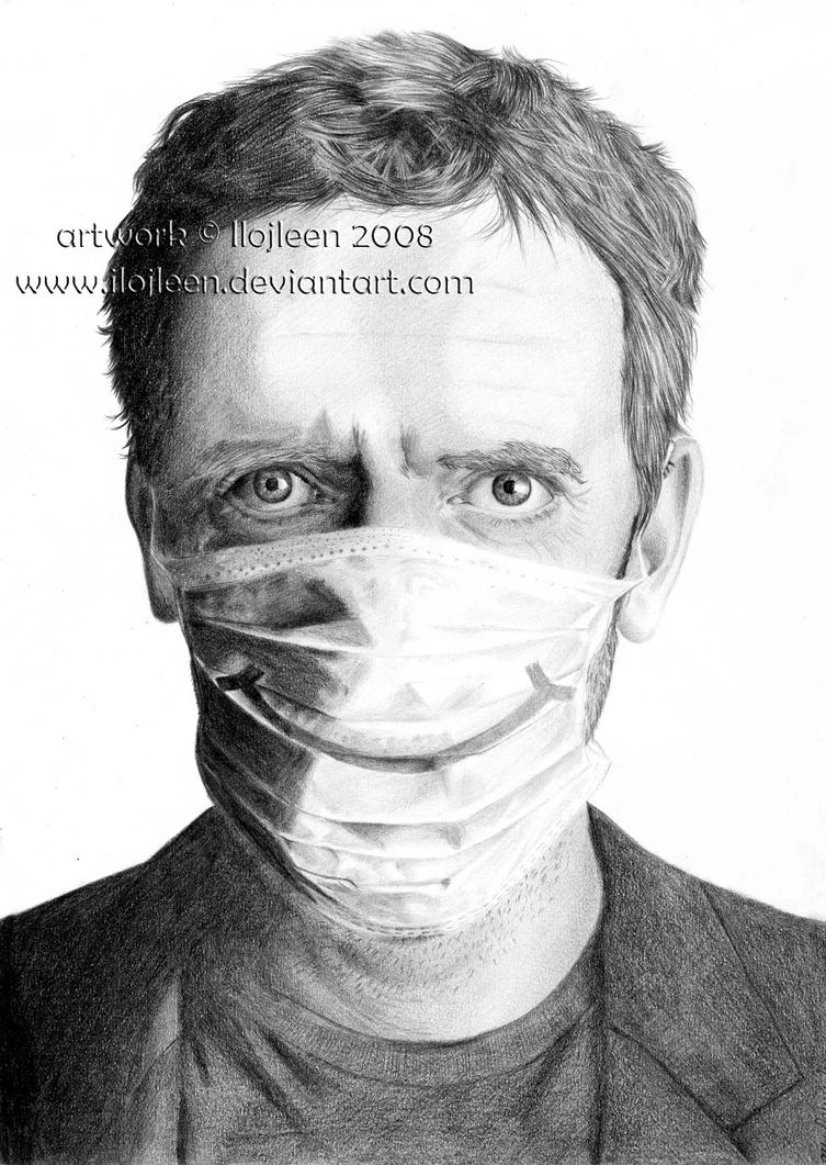 Hugh Laurie - Gregory House 01 by Ilojleen