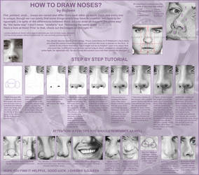Tutorial: how to draw noses?