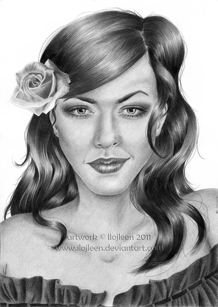 Carmen - imaginative portrait by Ilojleen