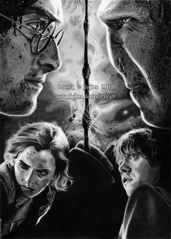 Harry Potter by Ilojleen