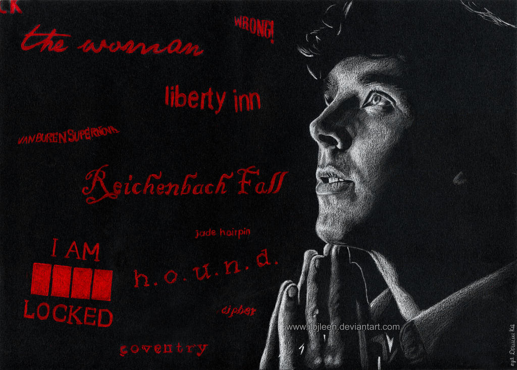 Benedict Cumberbatch as Sherlock Holmes by Ilojleen