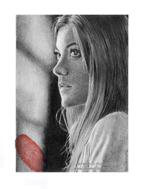 Jennifer Carpenter as Debra Morgan ACEO by Ilojleen