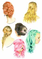 Hairstyles by Ilojleen