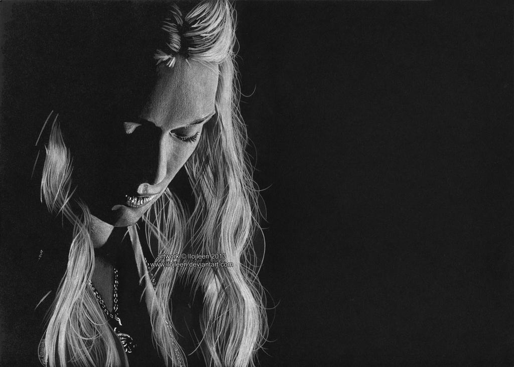 Cersei Lannister (Lena Headey) by Ilojleen