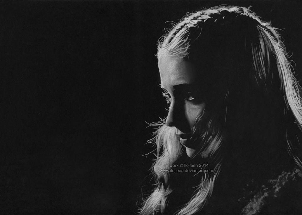 Sansa Stark (Sophie Turner) by Ilojleen